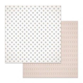 Scrapbookový papier / 12x12 / Texture stars