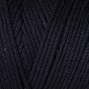 Macrame Cotton / 225m / čierna 750