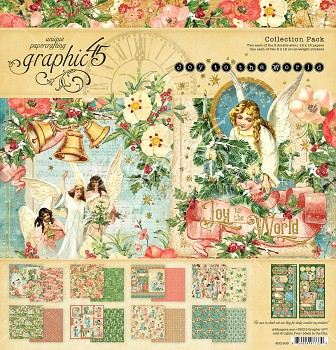 Joy to the World 12x12 Paper Pad