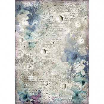 Rice decoupage paper A4 / Cosmos astral
