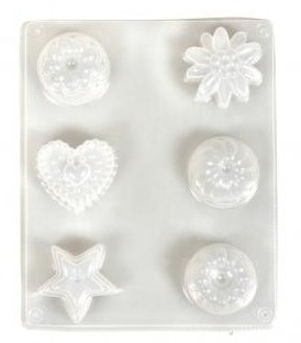 Casting mould: Petit Fours, 4-4.5cm