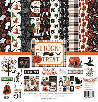 Trick or Treat 12x12 / Sada papierov