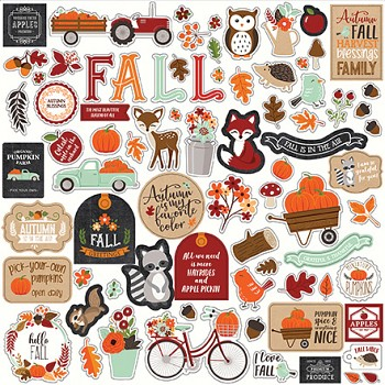 My Favorite Fall / 12x12 / Stickers