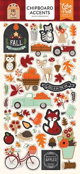 """My Favorite Fall / Chipboard Accents / 6x12"""""""