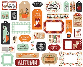 My Favorite Fall  Frames & Tags