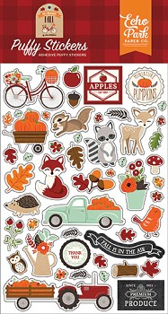 My Favorite Fall / Puffy stickers