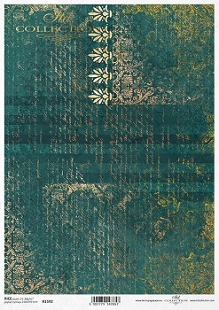Rice decoupage paper A4 / ITD R1592