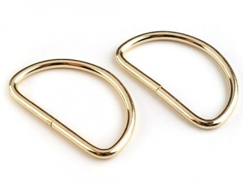 Pack 2 Metal loops for handles 5,8x5,2 cm