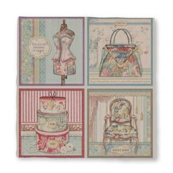 Ručný papier Magna Carta 30x30cm / Frame decorations / 1ks