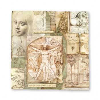 Büttenpapier Magna Carta 30x30cm / Leonardo / 1St.