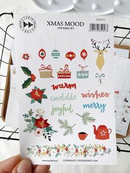 Papierové samolepky - XMas Mood