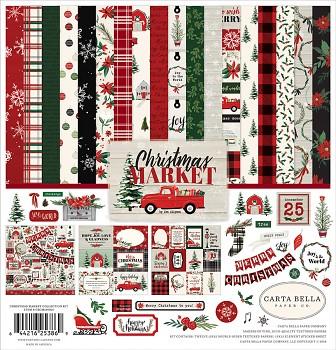 Christmas Market 12x12 / Sada papierov