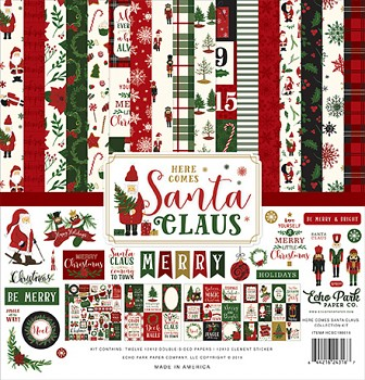 Here Comes Santa Claus 12x12 / Collection Kit
