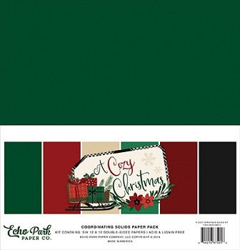A Cozy Christmas 12x12 / Solids Kit