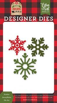 Festive Snowflakes Dies