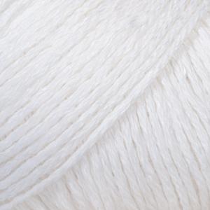 DROPS Bomull-lin / 50g - 85m / 01 white