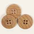 Wooden button / 2,5cm / 1pc