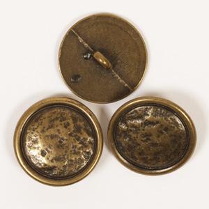 Kovový gombík bronzový / 2cm / 1ks