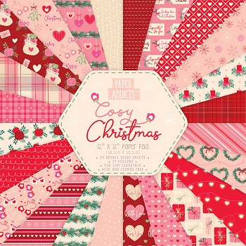 Cosy Christmas / 12x12 / 24pcs / Paper Pack