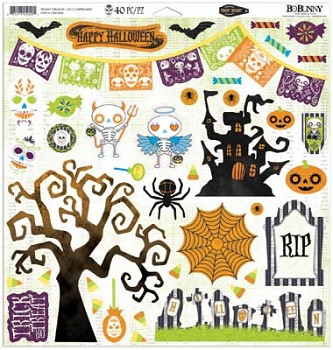 Fright Delight 12x12 / chipboard