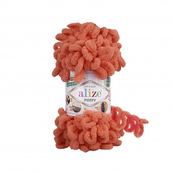 Alize Puffy / 100g / 619 Coral