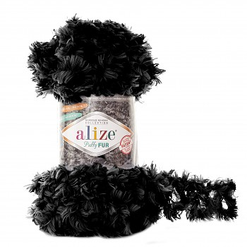 Alize Puffy Fur / 100g / 6101