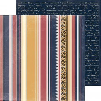 """Scrapbookový papier 12x12"""" / Journey / Globe Trotter"""