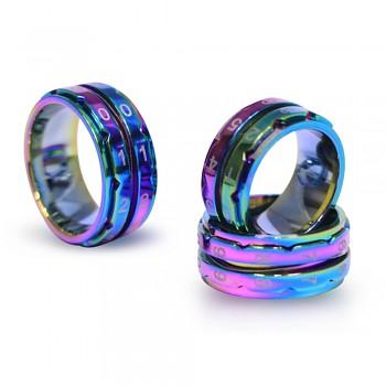 Počítadlo riadkov Knit Pro rainbow - veľkosť 8 (18,2mm) / 1ks