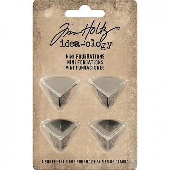 Tim Holtz / 4pcs / Box Feet