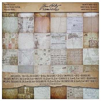 Tim Holtz Paper Stash French Industrial