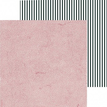 """Scrapbookingpapier / 12x12"""" / Lily & moss  / Chalky"""