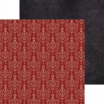 """Scrapbookingpapier / 12x12"""" / Grand bazaar / Folklore"""