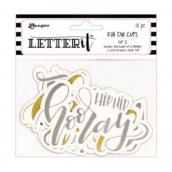 Die cuts Letter it set 2