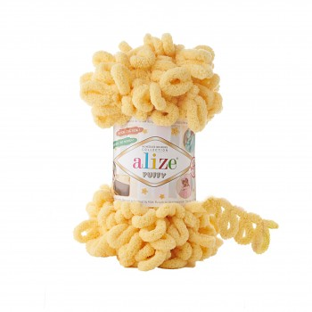 Alize Puffy / 100g / 509 Lemonade