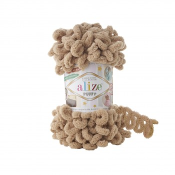Alize Puffy / 100g / 262 Beige