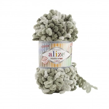 Alize Puffy Fine Color / 100g / 6065