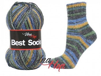 Best Socks 4-fach / 100g - 420m / č. 7117