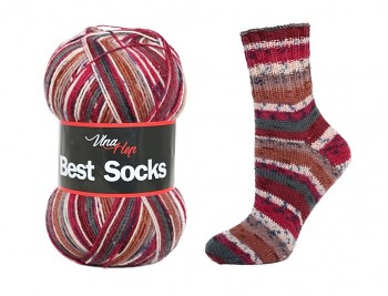 Best Socks 4-fach / 100g / č. 7001