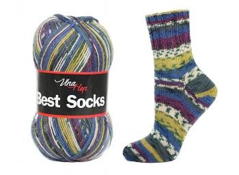 Best Socks 4-fach / 100g / č. 7006