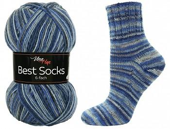 Best Socks 6-fach / 150g / č. 7038