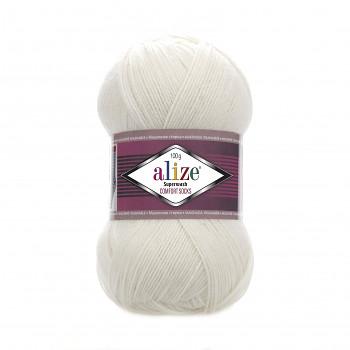 Пряжа для вязания Superwash 100 / 100г / 420 м / 01 Cream