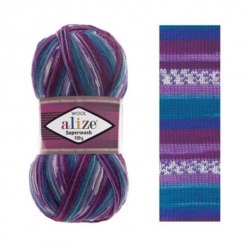 Priadza Superwash 100 / 100g / 4412