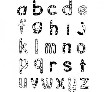 StampoMinos Mały alfabet