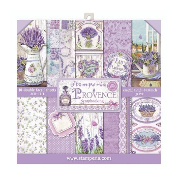 "Provence / 8x8"" / Paper Pack"