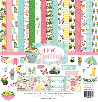 I Love Spring 12x12 / Collection Kit