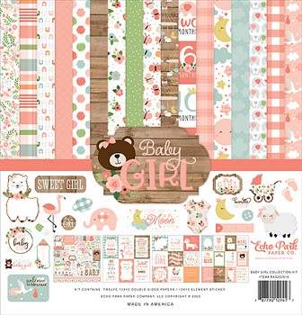 Baby Girl 12x12 / Collection Kit