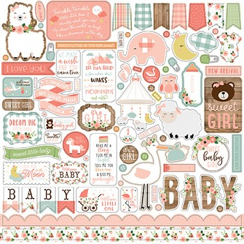 Baby Girl / Samolepky / 12x12