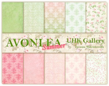 AVONLEA - SUMMER / 12x12 / Collection Pack