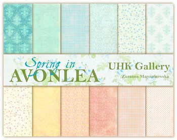 AVONLEA - SPRING / 12x12 / Collection Pack