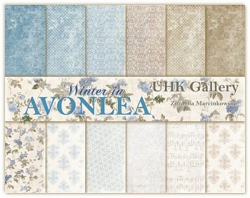 AVONLEA - WINTER / 12x12 / Collection Pack